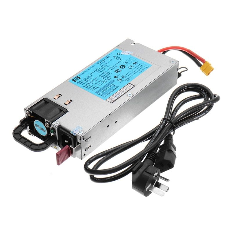 DC 12V 460W 38A RC Battery Charger Balance Power Supply with XT Plug For ISDT Q6 SKYRC B6 Charger RC Drone FPV Part Accs