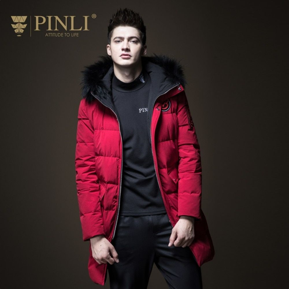 Chaquetas Hombre Special Offer Mens Winter Jackets Pinli Product Made The New Winter 2018 Men's Raccoon Coats B184208559 Teamed
