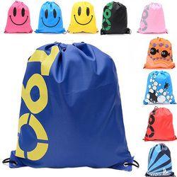41 * см 33 см непромокаемые дорожные Плечи сумка для хранения Обувь Сумка Шнурок Рюкзак для маленьких детей игрушки белье макияж