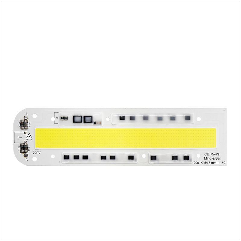 [Mingben] COB Чип лампы 30 Вт 50 Вт 70 Вт 100 Вт 150 Вт 220 В 110 В IP65 смарт-ic подходит для DIY светодиодный прожектор холодный белый теплый белый