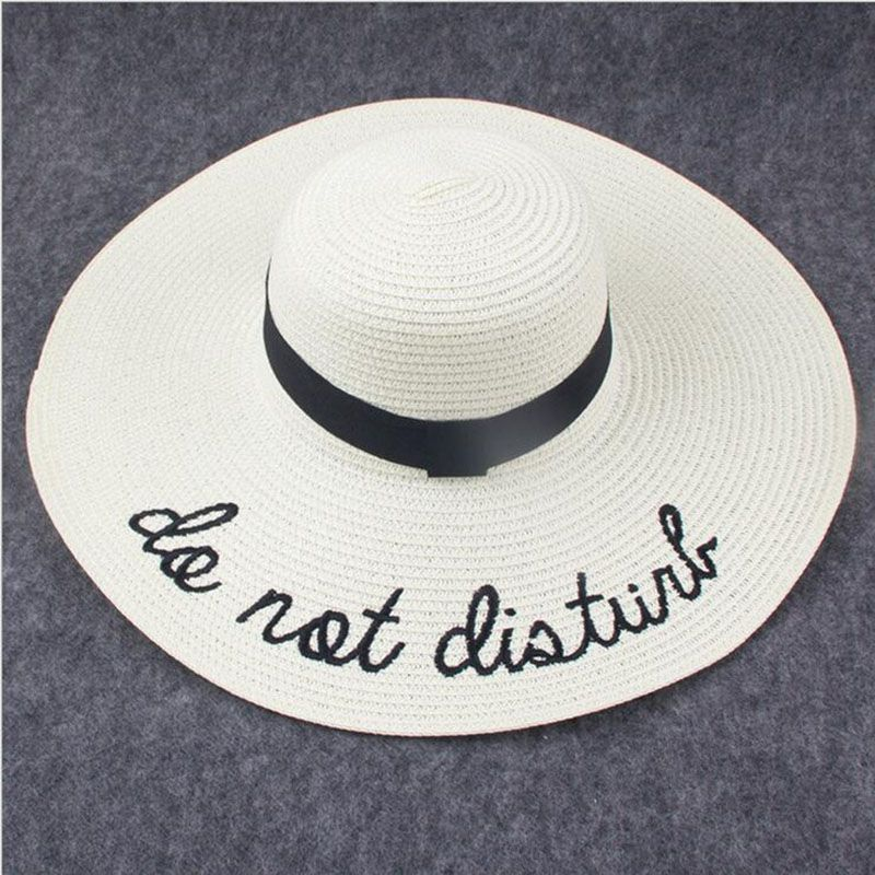 2017 Summer Women Sun Hat Ladies Wide Brim Straw Hats Foldable Beach Panama Hats Church Hat Bone Chapeu Feminino