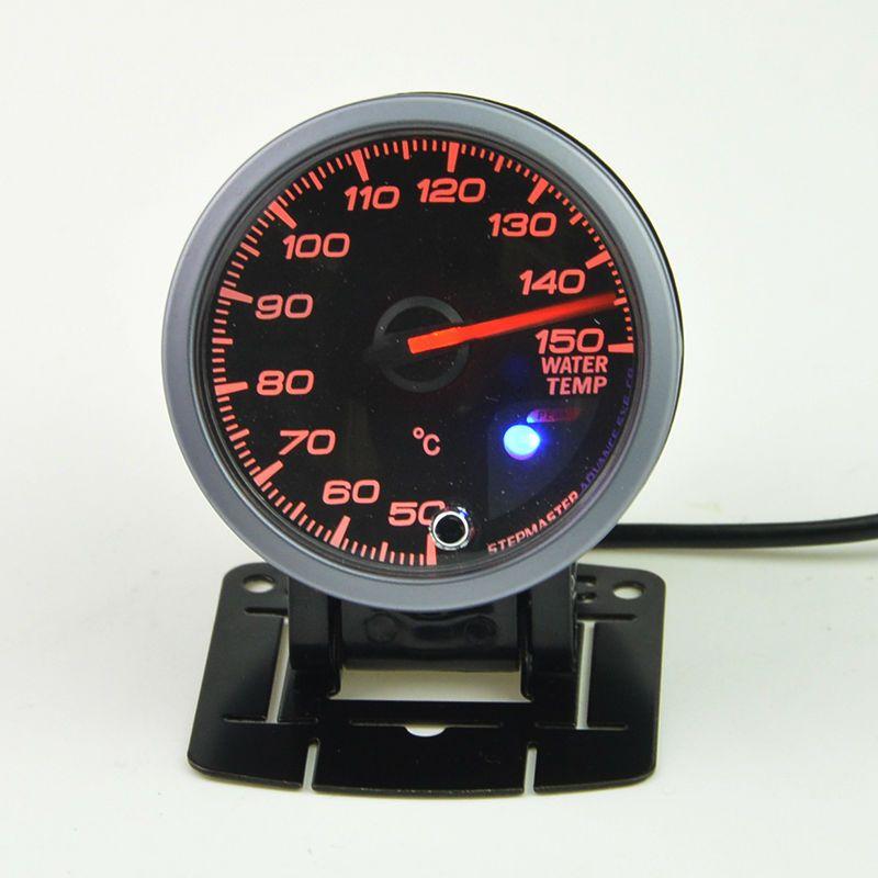 60 mm Stepper motor water temp gauge+Pods gauge car motor technology gauge warning function of 40-140 Celsius
