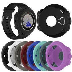 Premium Silikon Pergelangan Tangan Tali untuk Garmin Fenix 5X Indah Lembut Casing Pelindung Sarung untuk Garmin Fenix 5 X Pintar Olahraga jam Tangan