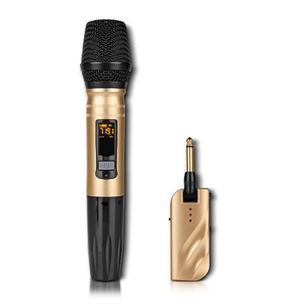 Professionelle Metall Multi-funktionale UHF Dynamisches Mikrofon UX2 Outdoor Bühne U-band Universal Wireless Mikrofon Schnelle Versand