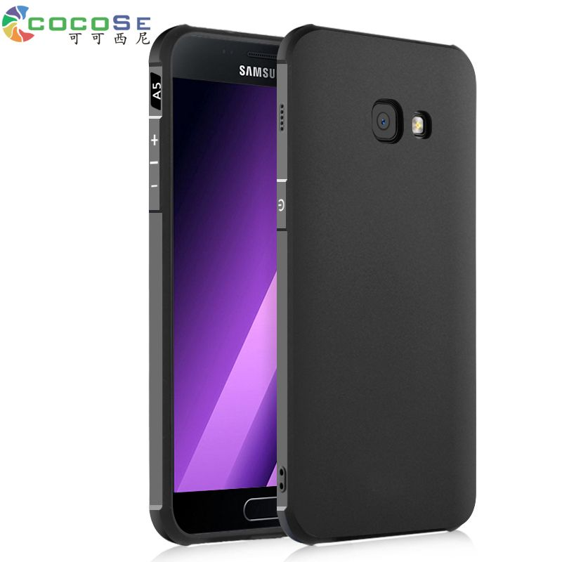 COCOSE Silicone Case For Samsung Galaxy A5 2017 A520 A7 A720 A3 SM-A320F Ultra-thin 3D Carved Coque Luxury Back Cover Anti-knock