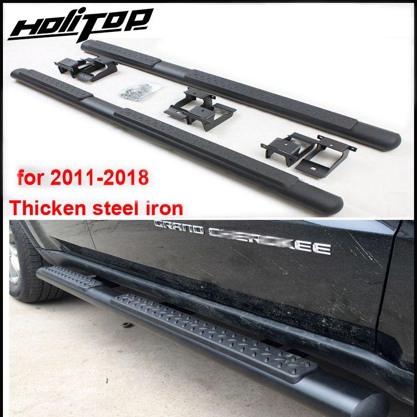 Heißer nerf bar/seite bar/fuß pedale/seite pedal für Jeep Grand Cherokee 2011-2018, zuverlässige qualität von fabrik, förderung für Asien