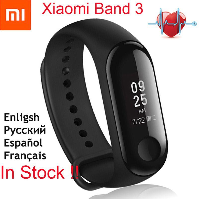 English Version!Original Xiaomi Mi Band 3 Smart Bracelet 0.78