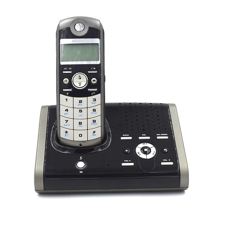 Multi-language Digital Cordless Phone With Answer Machine Handfree Voice Mail Backlit Display Fixed Telephone For Office Home