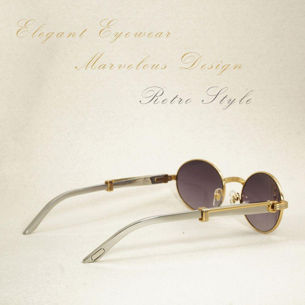 Gold Sonnenbrille Männer Edelstahl Sommer Luxus Sonnenbrille Männlichen Carter Gläser Füllen Rezept Brillen Brillen Zubehör