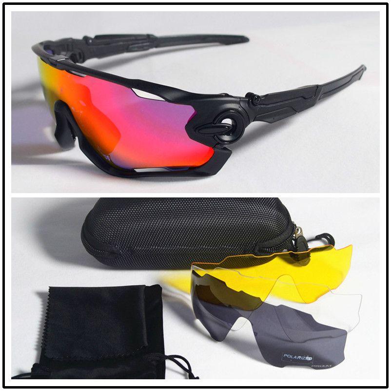 Polarized Cycling Glasses Road MTB Bicycle Bike Riding Sport Cycling Sunglasses Cycling Eyewear bicicleta Gafas ciclismo 4Lens
