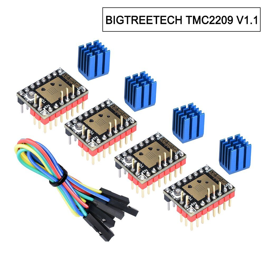 Presale BIGTREETECH TMC2209 V1.1 moteur pas à pas pilote TMC2208 UART pilote 2.8A 3D pièces d'imprimante VS TMC2130 pour SKR V1.3 mini E3