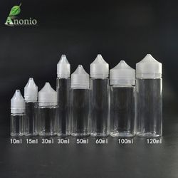 10 unids vacío Botellas pluma forma plástico cuentagotas botella cuentagotas claro largo transparente e botella de aceite líquido PET transparente botellas