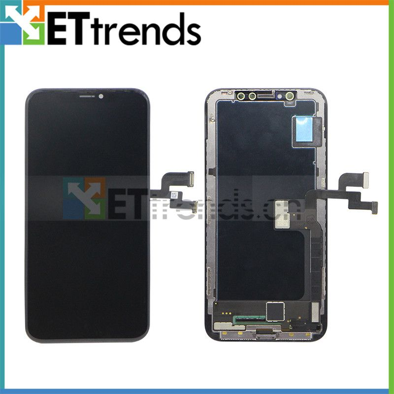 1 piece 100% Original New LCD Screen For iPhone X LCD Display Touch Digitizer Assembly DHL Free Shipping
