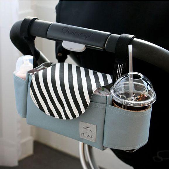 PYETA Baby Stroller Accessoris Bag New Cup Bag Stroller Organizer Baby <font><b>Carriage</b></font> Pram Buggy Cart Bottle Bag Car Bag Yoya