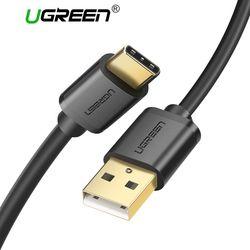 Ugreen USB Type C Câble pour Samsung Galaxy S9 USB Câble à Type C Rapide De Charge Câble de Données pour Xiaomi mi6 Nintendo Commutateur USB-C