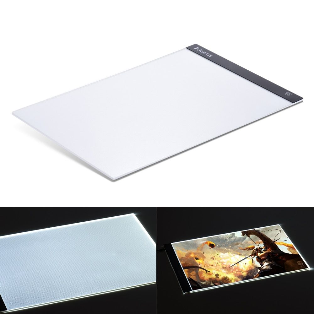 A3 Portable Digital Tablets LED Light Box Drawing Tracing Tracer Copy Board Table Pad Panel Copyboard for Artist Tattoo Painting