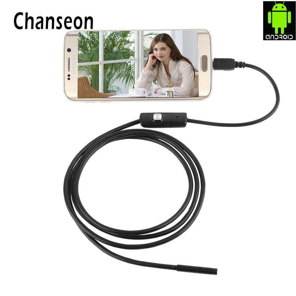 Endoscope 7mm lentille pour certains Android téléphone Endoscope étanche 1 M 2 M 3.5 M 5 M Micro USB OTG Endoscoop caméra Endoscope Endoscopio
