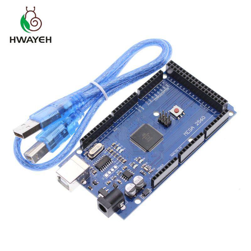 MEGA 2560 R3 ATmega2560 R3 CH340G carte de développement de carte USB AVR pour Arduino MEGA 2560 R3