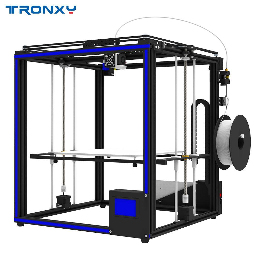 TRONXY X5SA DIY Aluminium 3D Drucker 330*330*400mm Druck Größe W/Aktualisiert T_ouch Bildschirm/ auto Nivellierung/Dual Z-achse/Lebenslauf