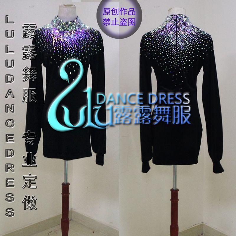Men's Party Ballroom Latin Salsa Dance Shirt Tango Modern Jazz Dress Shirts Tops