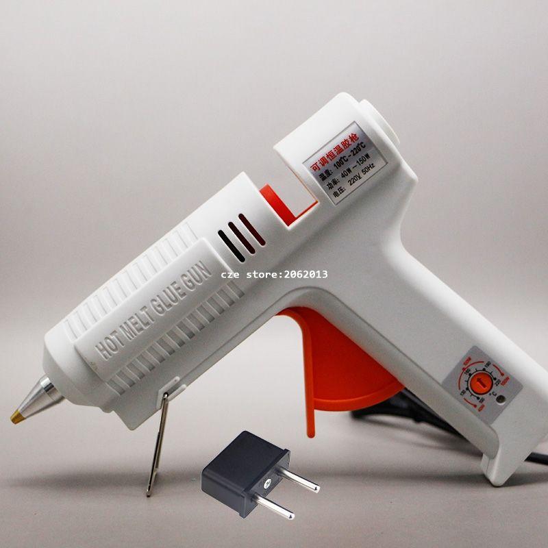 Freies Verschiffen 220 v 40-150 watt Hot Melt Kleber Gun Temperatur Einstellbare Repair Kit Tools