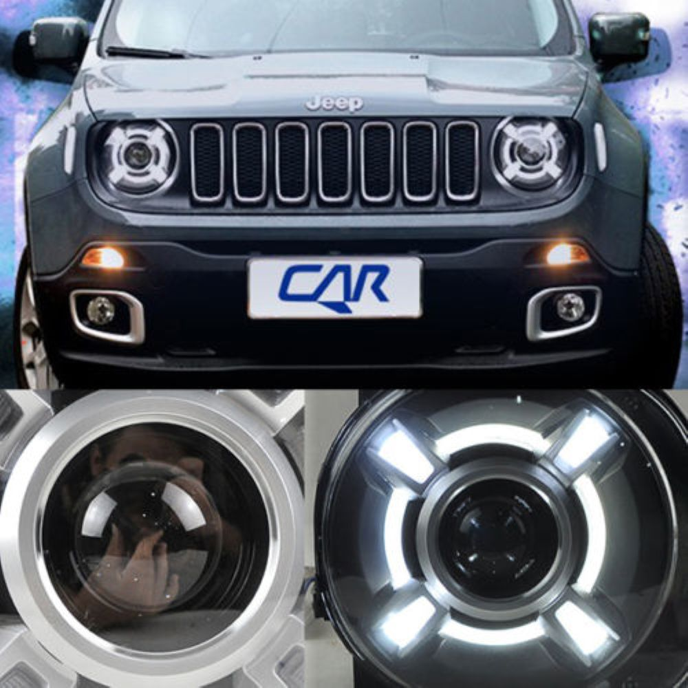 2015-2016 Year For Jeep Renegade HID LED Head Lights HID Xenon Lamps and ballast (Fits: Jeep Renegade)