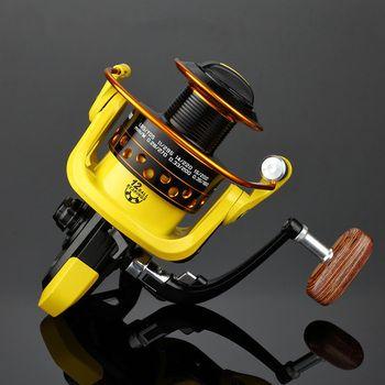 YUYU Metal Fishing Reel Spinning Reel metal spool 500 1000 2000 3000 4000 5000 6000 7000 12BB NO Gap Ratio 5.2:1 Fishing Tackle