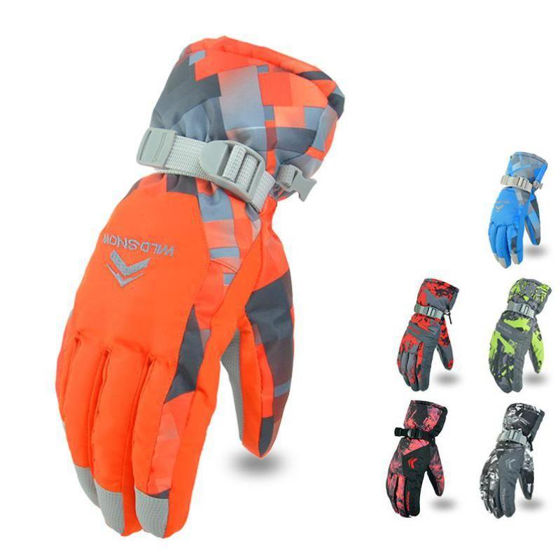 2017 neue herren Skihandschuhe Snowboard-handschuhe Snowmobile Motorrad-reiten Winterhandschuh Winddicht Wasserdicht Unisex Schnee Handschuhe