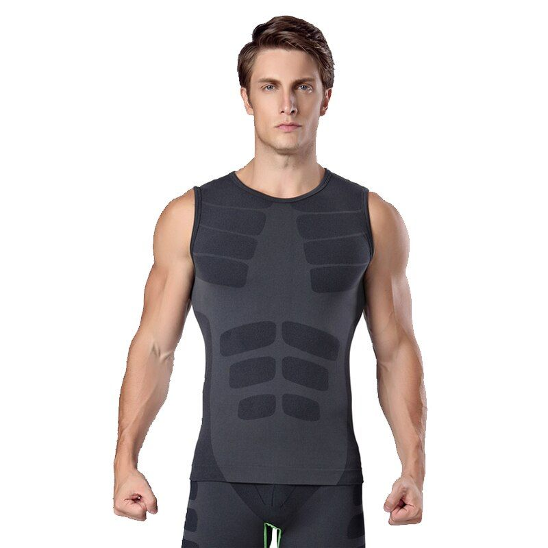 Mens Compression Base Layers Bike Bicycle Cycling Jersey Sleeveless Sport Underwear Quick Dry Shirt Cycling Vest Sports wear
