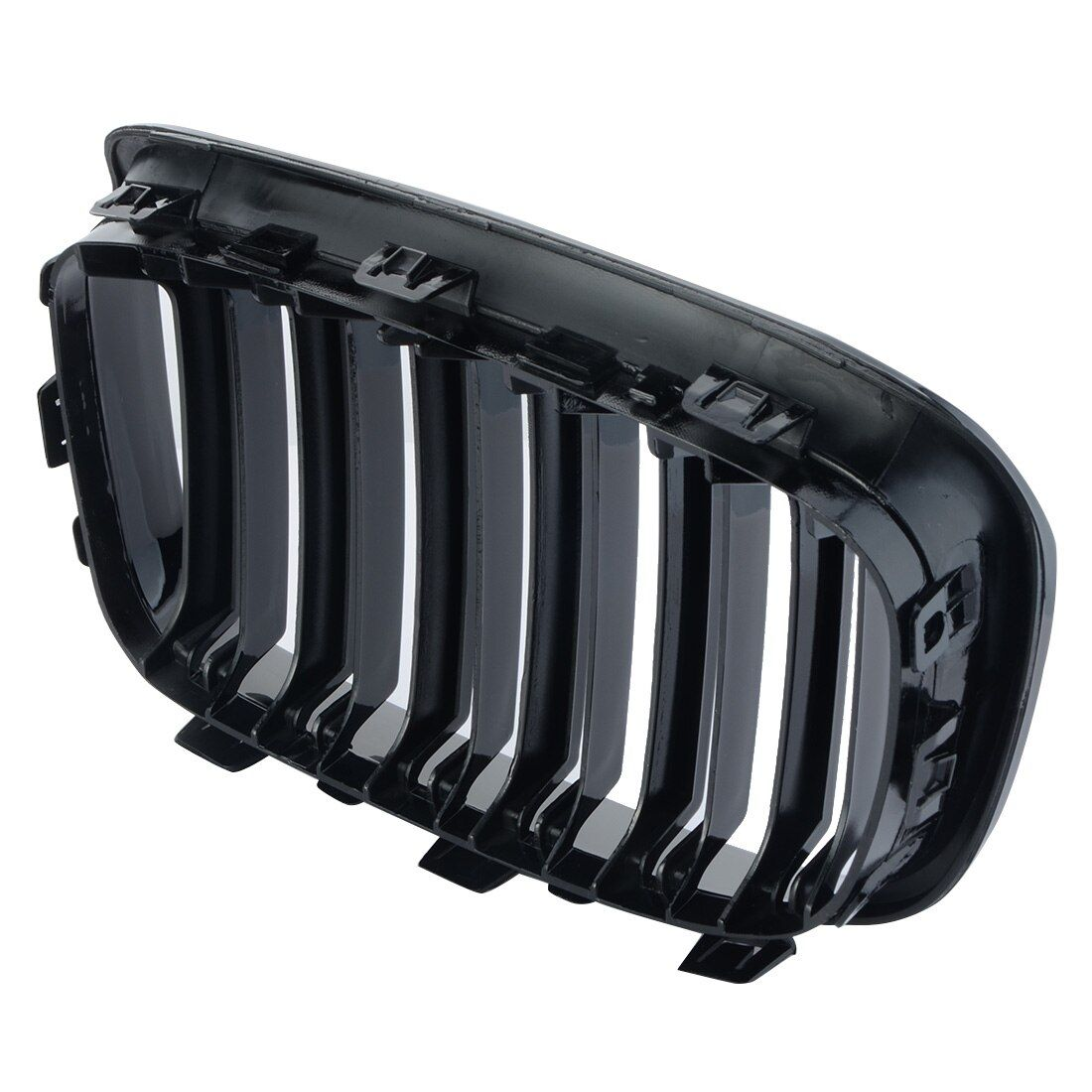 1 pair Car Style One Pair Front Gloss Black Racing Grilles for BMW F20 2011-2014