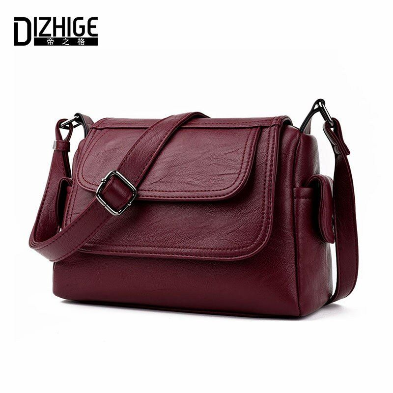 DIZHIGE Brand 2017 Spring Summer Fashion Crossbody Bags Single Shoulder Bags Ladies PU Leather Bags Women Handbags New Sac <font><b>Femme</b></font>