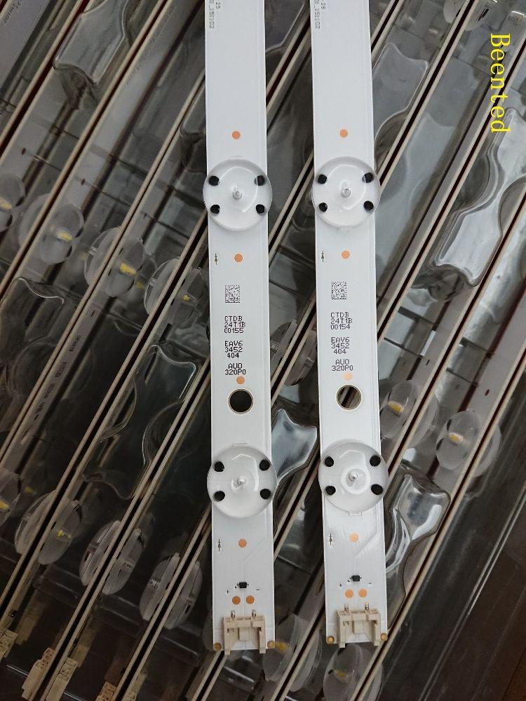 Nouveau kit 2 pièces 7LED 615mm LED blacklight bande pour LG 32LH604V 32LH530V 32LH60_FHD_A 32LH60_FHD S L SSC_32inch_FHD_REV01_151102