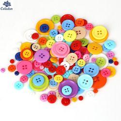 20-200 шт разные размеры круглые смолы мини крошечные пуговицы для шитья инструменты декоративные кнопки Скрапбукинг аппликация для одежды р...