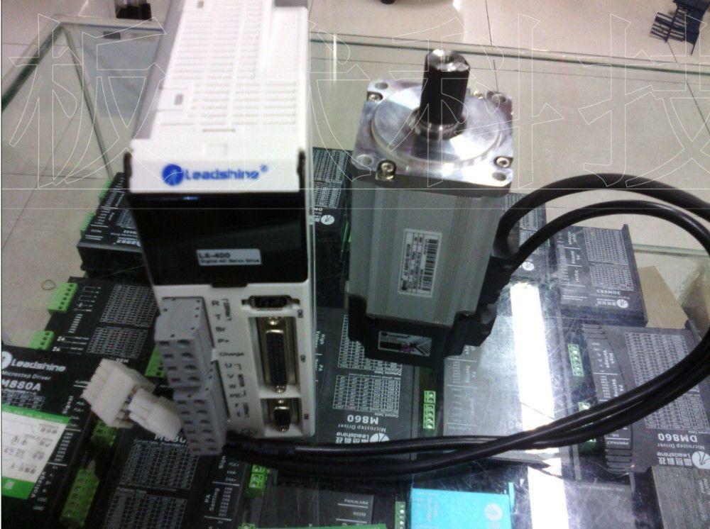 NEUE Leadshine AC-Servo L5-400 und AC servo motor 400 Watt ACM6004L2H-B encoder 2500 linie arbeit zu 220VAC RUN 3000 RPM aus 1.27NM