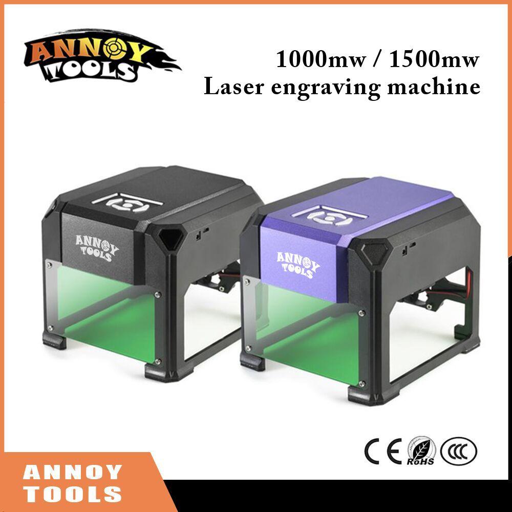 1000mW 1500mW cnc router laser cutter DIY Print laser engraving machine Mini lettering machine Custom logo 80*80mm working area