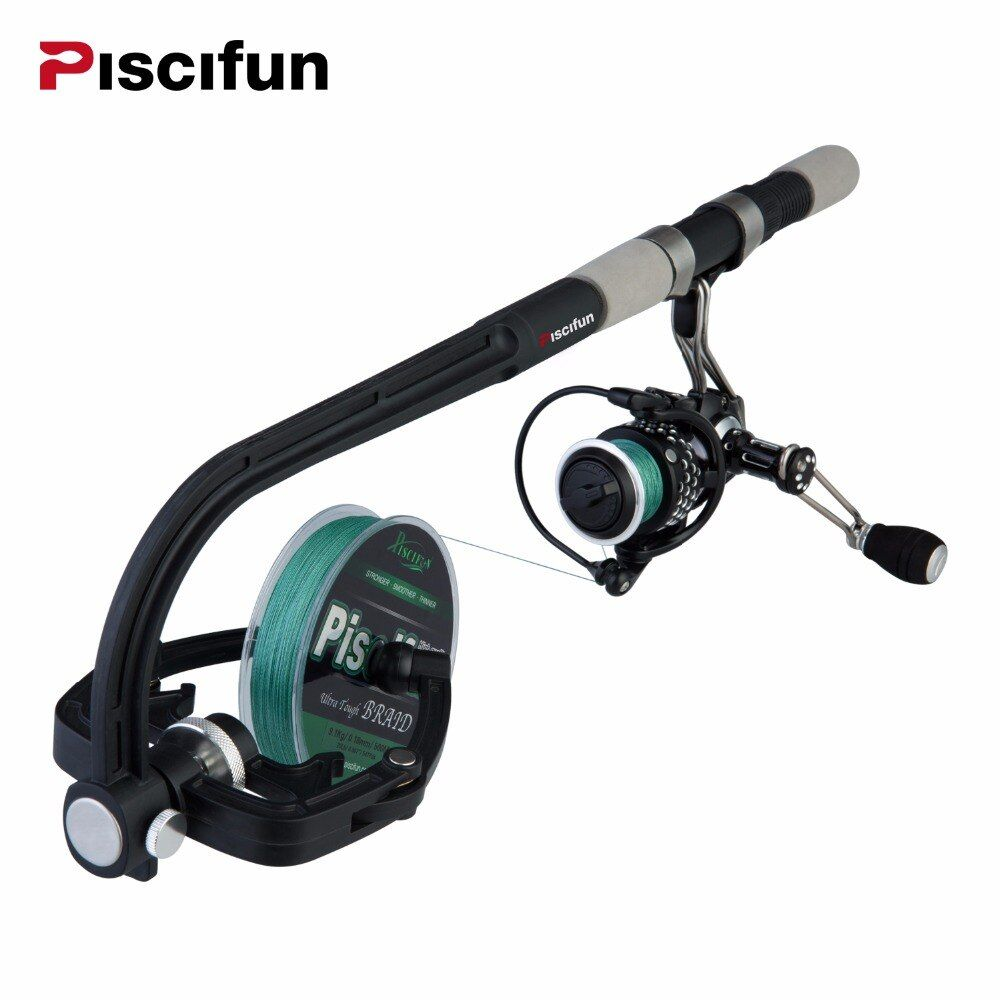 Piscifun Portable Fishing Line Spooler Spinning/Baitcasing Reel Line Spooler Winder Machine Station System