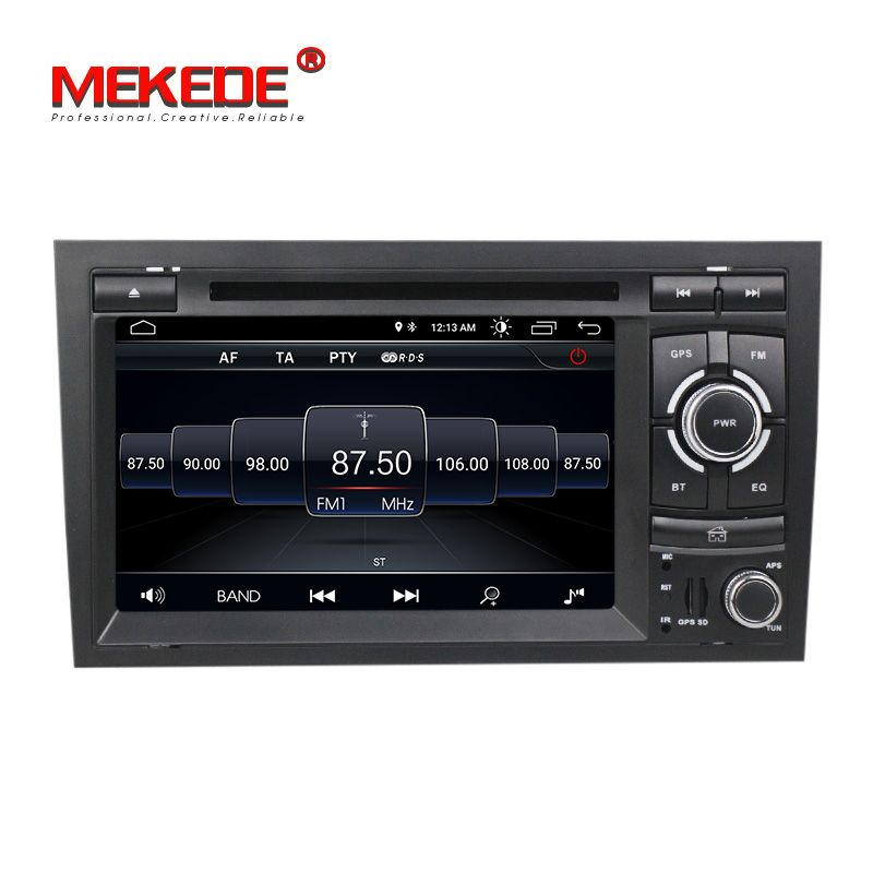 Neue ankunft! mekede android 8.1 auto radio Multimedia-system für Audi A4 S4 RS4 quad core wifi Bluetooth GPS dvd