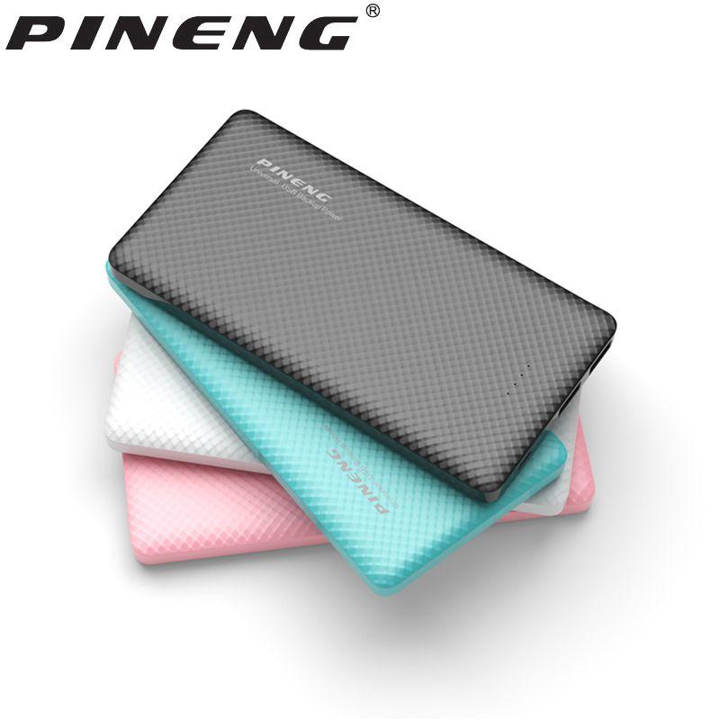 D'origine PINENG PN-958 10000 mAh Puissance Banque Portable PoverBank avec Double Sortie USB LED Affichage Externe De Sauvegarde D'urgence Batterie