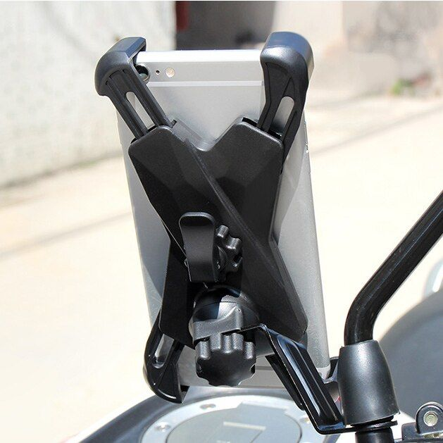 2019 Hot Adjustable Rearview Mirror Universal Phone Stand Bike Phone Holder Motorcycle Phone Mount Handlebar Suporte Celular