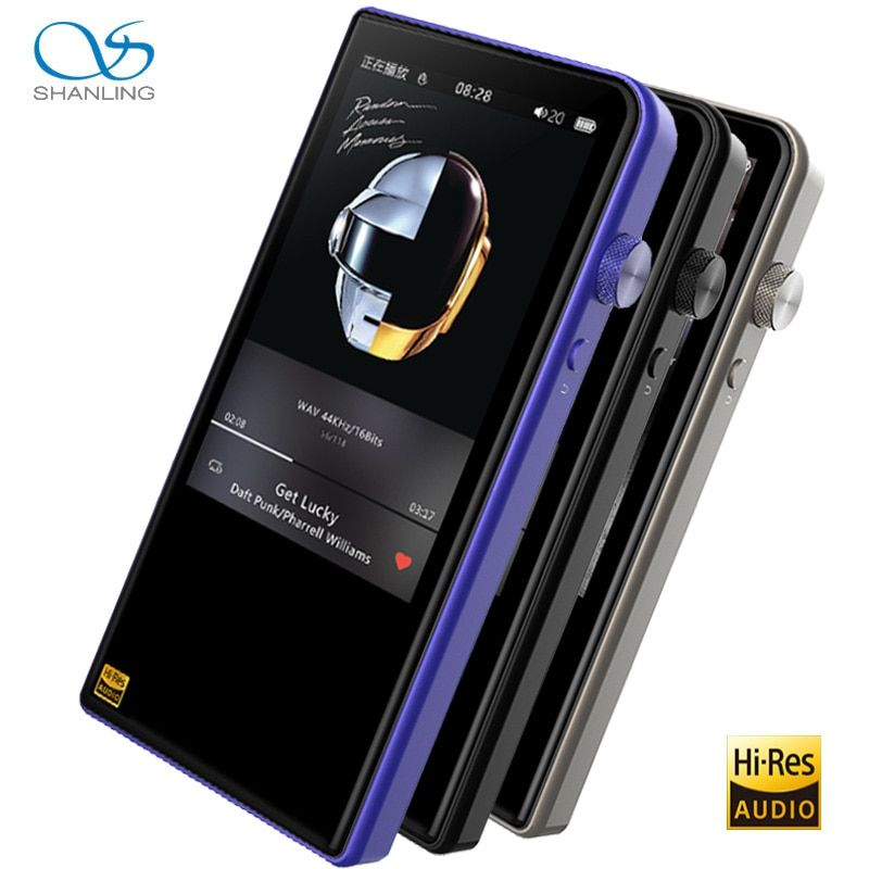 Shanling M3s Portable Player Hi-Res Balanced with Bluetooth4.1 support Apt-X Music Player
