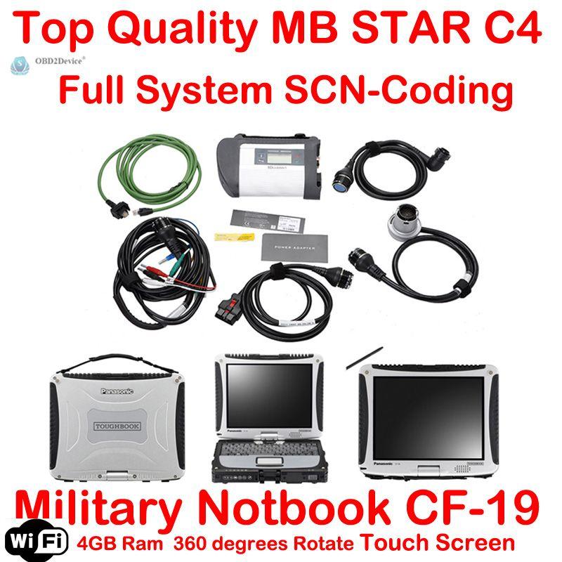 Garantie Qualität A + + + MB-Stern C4 SD Schließen 4 Mit 2018,03 Vediamo + DTS Für Mb-stern SD Compact 4 Multiplexer auto diagnose werkzeug