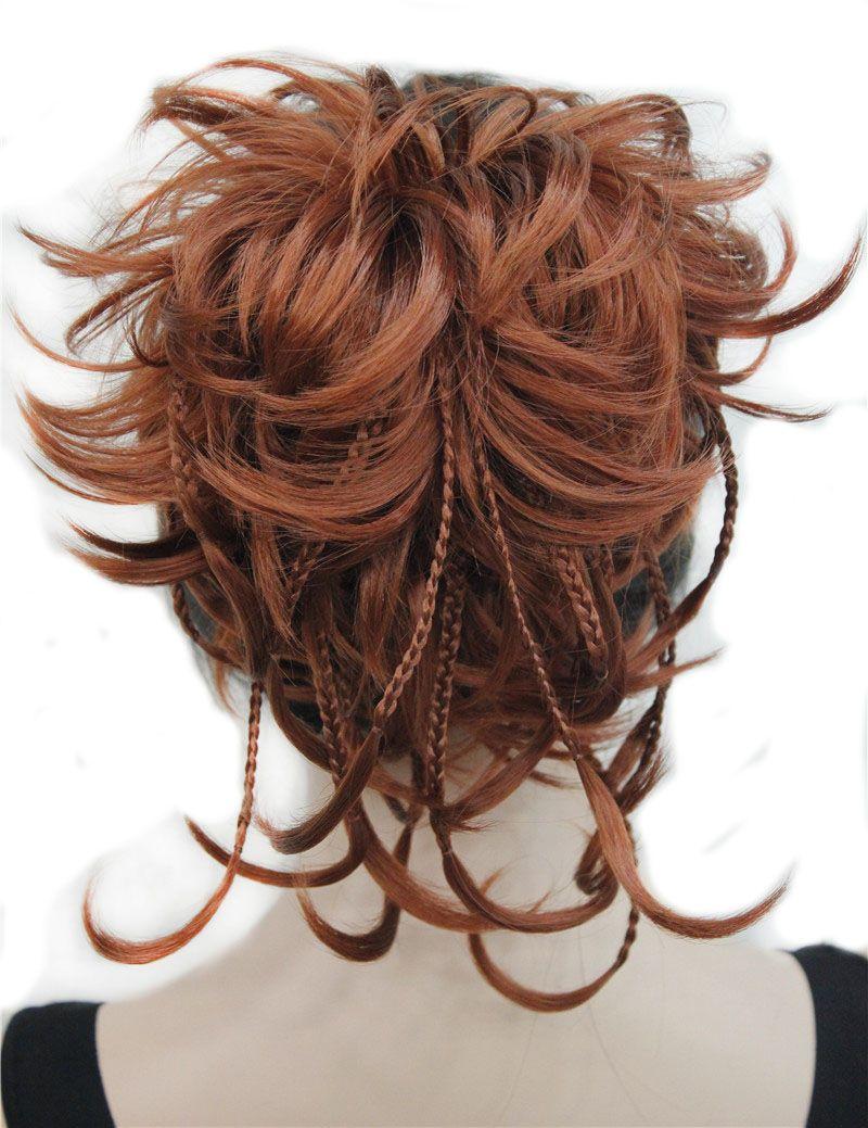 Strongbeauty синтетические DIY волос красный блондинка коричневый, черный коса шнурок хвост клип в/на наращивание волос шиньоны 17 Цвета