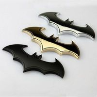 Bat 3D хромированный металл мотоцикла Авто Логотип Стикеры эмблемы хвост Наклейки
