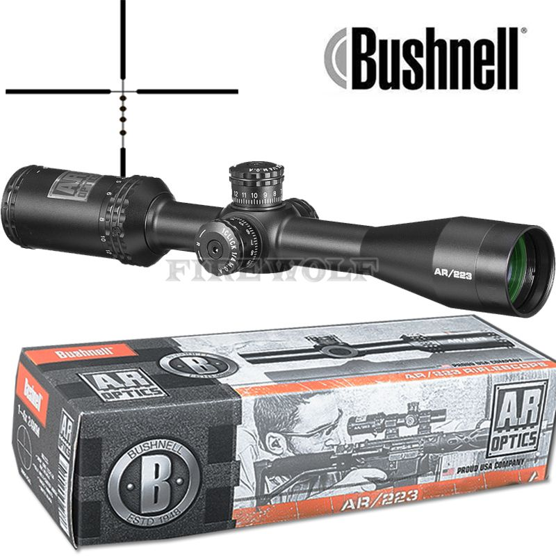 BUSHNELL 4.5-18x40 AR Optics Drop Zone-223 Reticle Tactical Riflescope With Target Turrets Hunting Scopes For Sniper Rifle