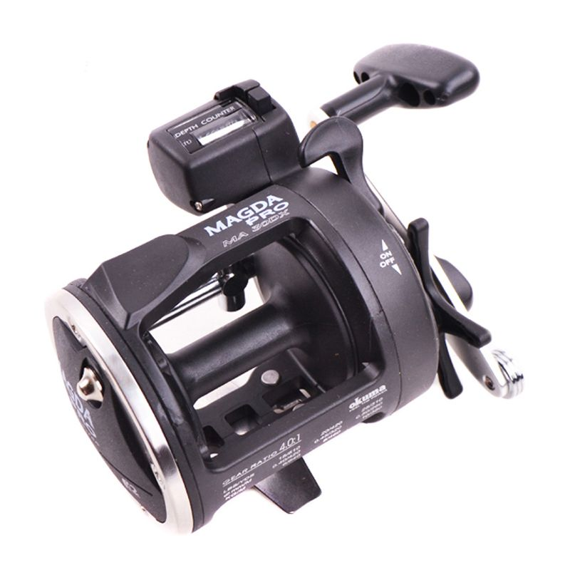 The Brave Magda MA20DX ---2BB Boat Reel Right Hand Trolling Fishing Reel With Counting Real Drum Fishing Reel
