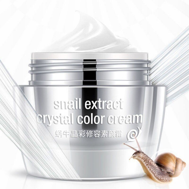 Snail Extract Crystal Day Cream Moisturizer Anti Wrinkle Aging skin whitening Face Skin Care snail 2017