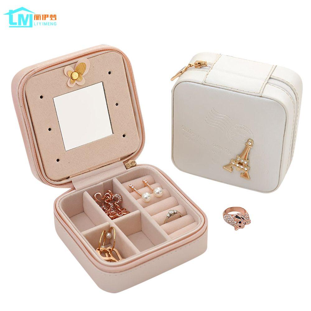 Boîte D'emballage De bijoux Boîte De Cercueil Pour Exquis Maquillage Cosmétiques Beauté Organisateur Conteneur Boîtes Graduation Cadeau D'anniversaire