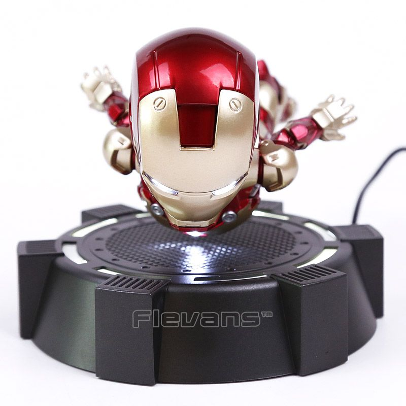 IRON MAN MK MAGNETIC FLOATING ver. with LED Light Iron Man Action Figure Collection Toy 3 Colors