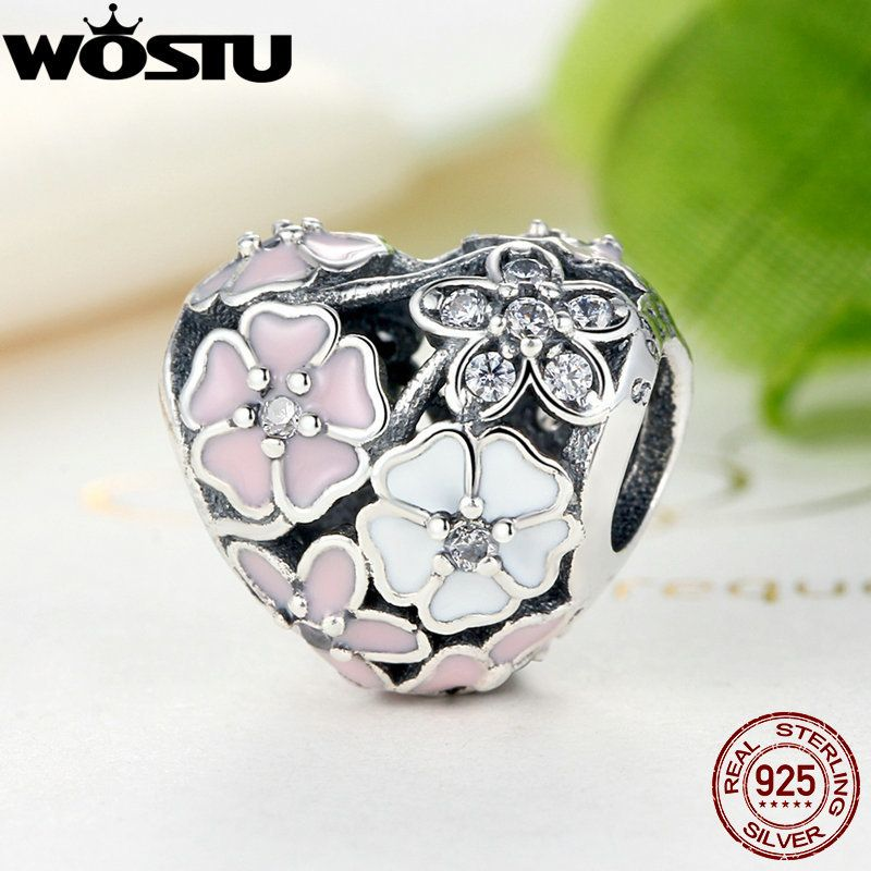 Aliexpress 100% 925 Sterling Silver Poetic Blooms Charm Beads Fit Original WST Bracelet Authentic Luxury DIY Jewelry Gift