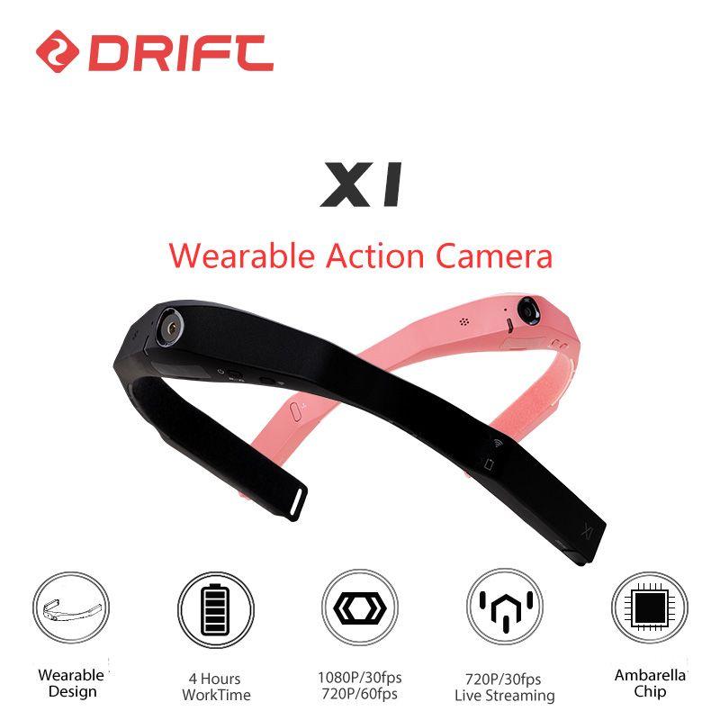 Original DRIFT Wearable Action Kamera 1080P HD Fahrrad Mountainbike Helm Sport gehen extreme pro cam mit WiFi Ambarella chip